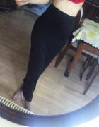 czarna spódnica maxi