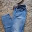 jeansy rurki divese wytarte