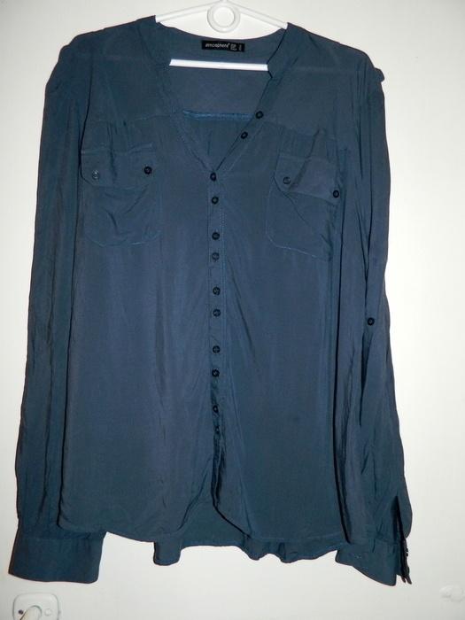 Koszule granatowa koszula ATMOSHERE
