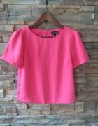 Różowa bluzka top shop