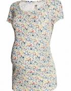 ciążowa bluzka w kwiatuszki H&M