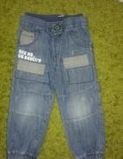 Spodnie jeansowe 110...