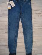 Spodnie jeansy XS 34 pull & bear...