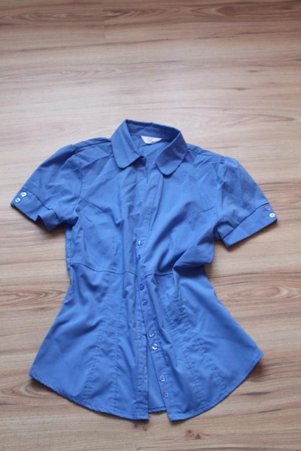 Koszule niebieska koszula pepco