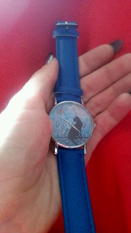 Zegarki zegarek z kotkiem
