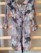 Zwiewna elegancka bluzka tunika