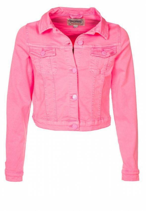 Katana jeansowa Różowa...