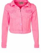 Katana jeansowa Różowa