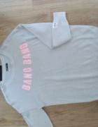 nowy szary sweterek cropp