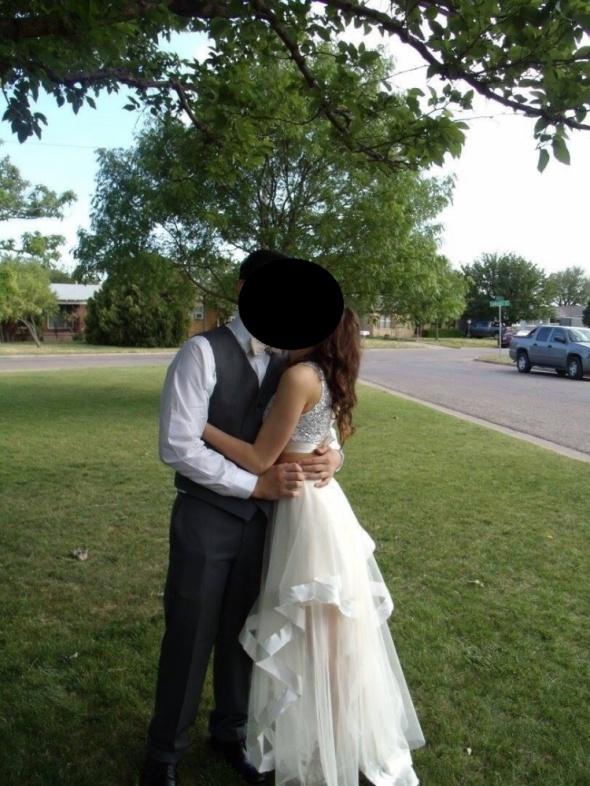 Moja sukienka 2 częściowa top i spódnica nude ecru