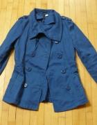 kurtka H&M niebieska 34