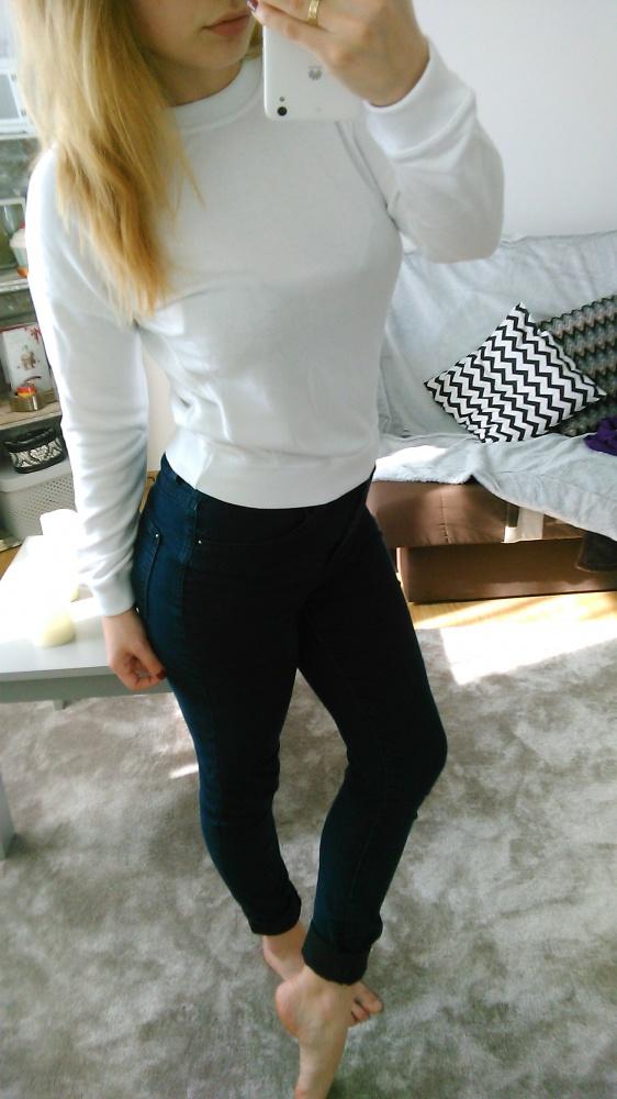 Codzienne Biala bluza New Look