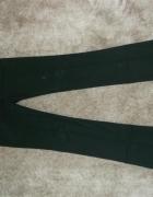 Spodnie ZARA czarne eleganckie proste nogawki