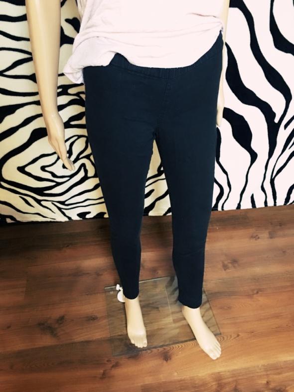 Spodnie Pieces treginsy czarne rurki tregginsy jegginsy 36