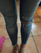 Jasne jeansy ZARA
