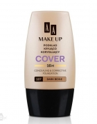 PODKŁAD AA MAKE UP COVER 107 DARK BEIGE