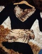Czarna bluzeczka tunika Dolce Vita...