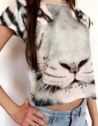 Bluzeczka z tygrysem