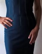 Seksowna sukienka jeansowa Dolce&Gabbana