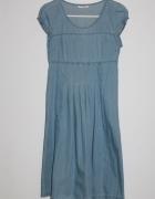 JEANS Jeansowa sukienka ORSAY 34 XS