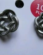 metalowe kolczyki wkrety nowe sprezynki