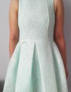 By O La La Magnetic sukienka 38M miętowa koronkowa...