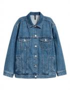 jeansowa kurtka h&m