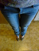 Jasne jeansy cropp boyfriend