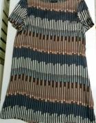 Wzorzysta sukienka rozm XL Next