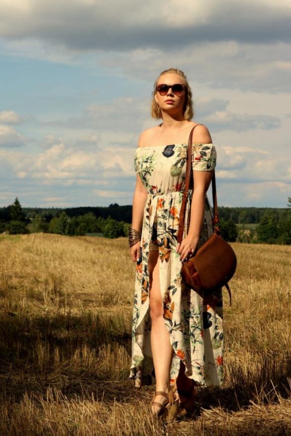 Blogerek sukienka kombinezon