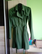 Zielony płaszczyk Mohito XS...
