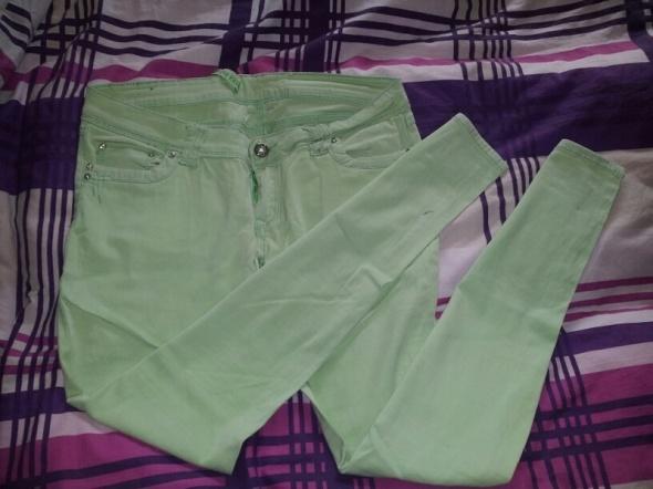 Jasno zielone rureczki XL XXL...