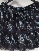 H&M koronkowa spódnica w kwiatki S