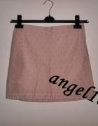 różowa spódnica mango s