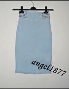 niebieska spódnica 32 xxs