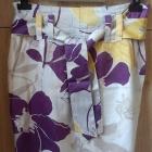 spódnica w kwiaty M