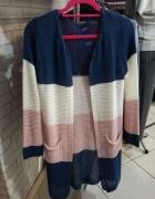 Sweter w paski xs xxs...