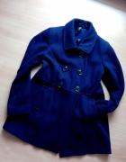 CUBUS płaszcz ciepły fiolet WIOSNA JESIEŃ 38 40