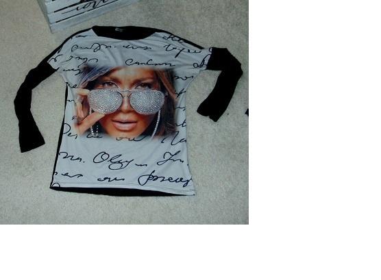 Bluzki Bluzka z twarzą