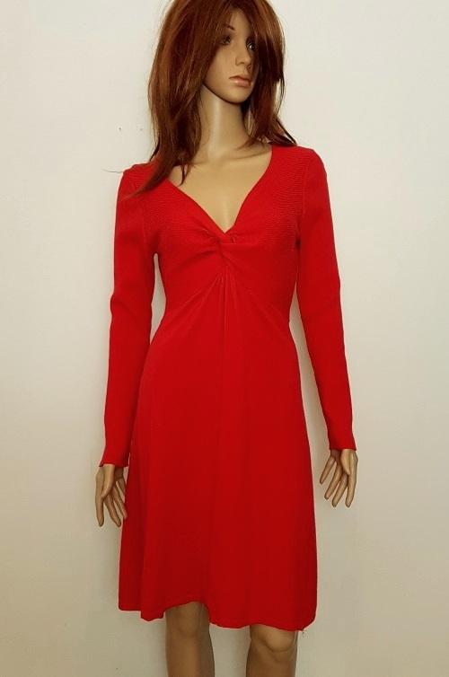 b75a258512 Suknie i sukienki Phase Eight sweterkowa czerwona sukienka rozmiar L