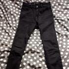 spodnie rurki czarne bershka xs s wysoki stan