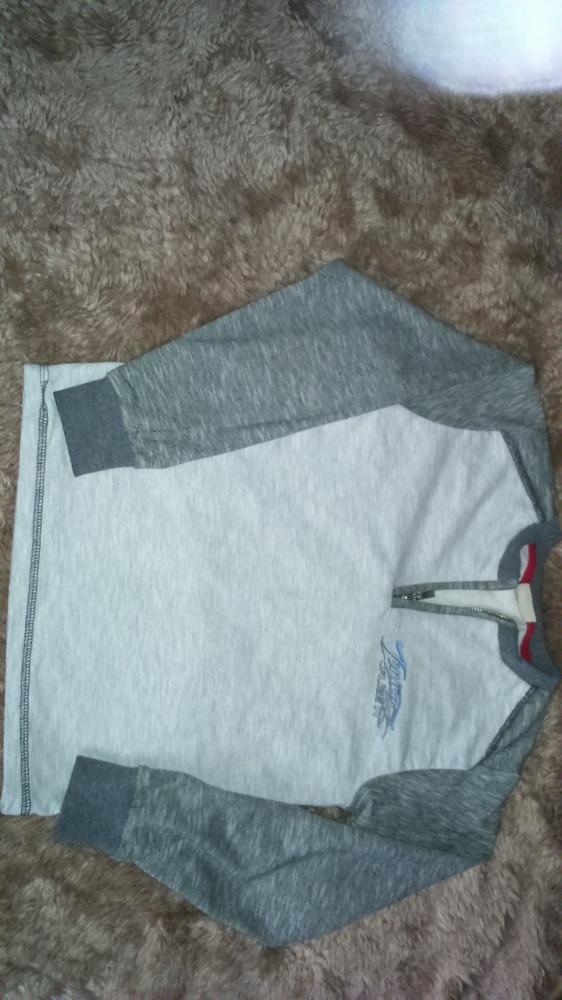 Bluzka szaro beżowa 122 melanż