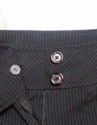 czarne eleganckie spodnie H&M