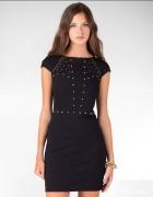 sukienka stradivarius czarna s 36