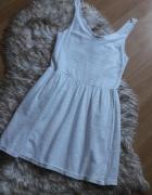Biała sukienka aztecki wzór...