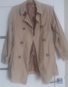 Płaszcz beżowy nude rozmiar S 36