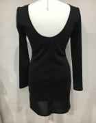 Sukienka H&M lekko połyskującapiękne plecy