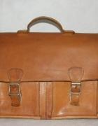 Listonoszka torba skórzana vintage...