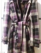 Płaszcz z kratkę rozmiar 40 L