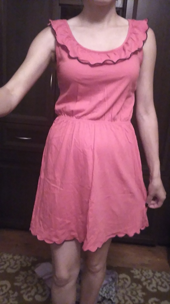Suknie i sukienki sukienka malinowa
